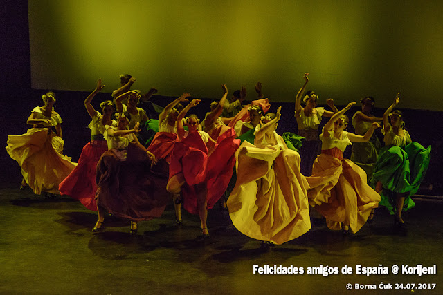 Opatija Korijeni -  Felicidades amigos de España @ Compania de danza Ángel Martínez