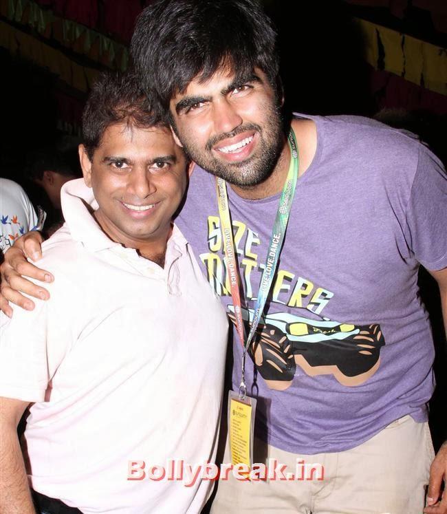 Mohammed Fasih with Karan Singh