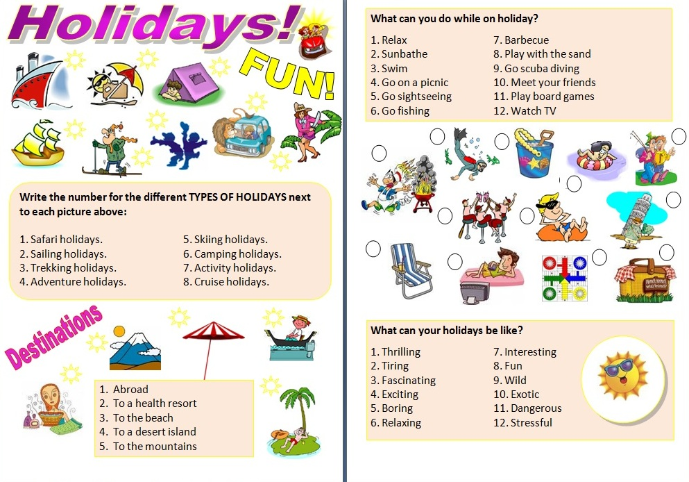 holiday plan dialog Practice talking about vacations in english to use your travel related vocabulary and dream about it's a travel related lesson plan that's sure to.