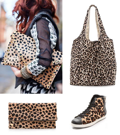 Bolsas animal print leopardo