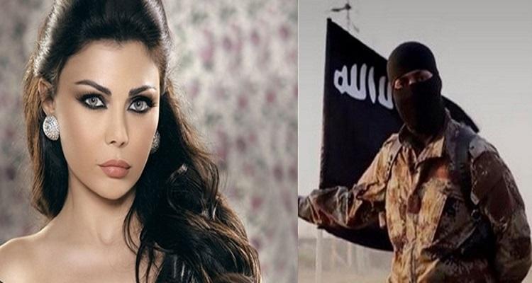 داعش ترسل رساله للفنانه هيفاء وهبي اثارت رعبها ورعب جميع متابعيها