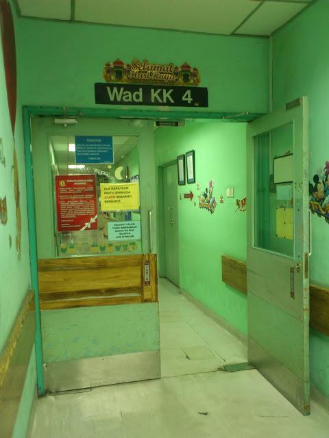 Wad KK4, Institut Pediatrik HKL