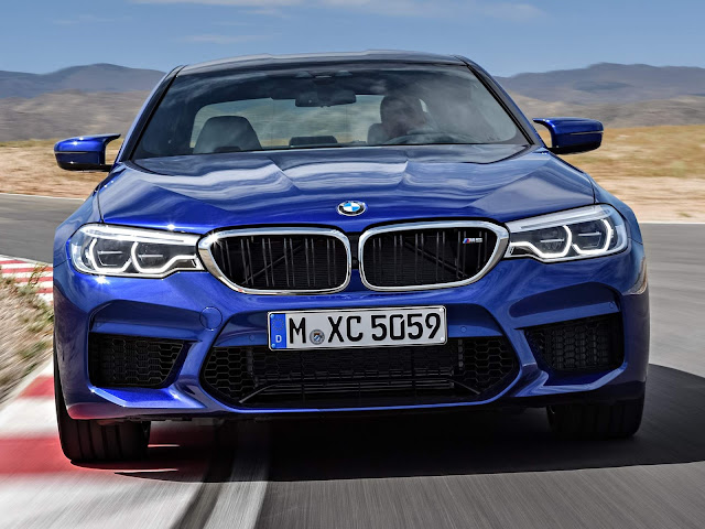 Novo BMW M5 2018 - Brasil