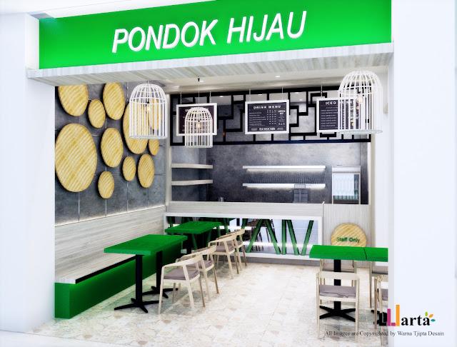 Desain Restaurant Restoran Food Court Rumah Makan Lampung Walk