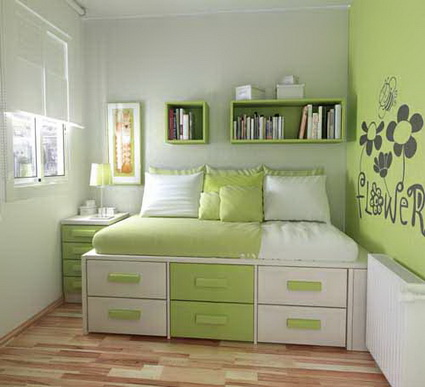 Best Bedrooms in Green Color Scheme 1