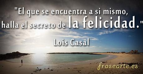 Frases para la felicidad, Lois Casal