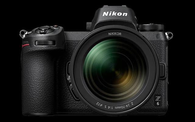 Kamera Nikon Z6 bagian depan