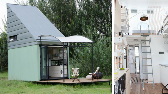 TINY HOUSE TOWN: The POD-Idladla Modular Tiny Home