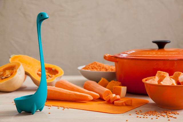 Dinozor çorba kepçesi