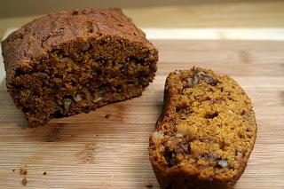 Pumpkin Walnut Bread 1