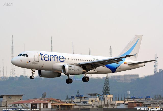 Tame A319