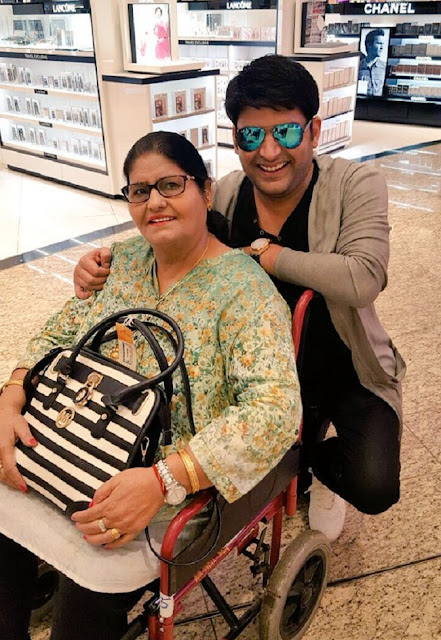 Kapil Sharma With His Mother Janak Rani