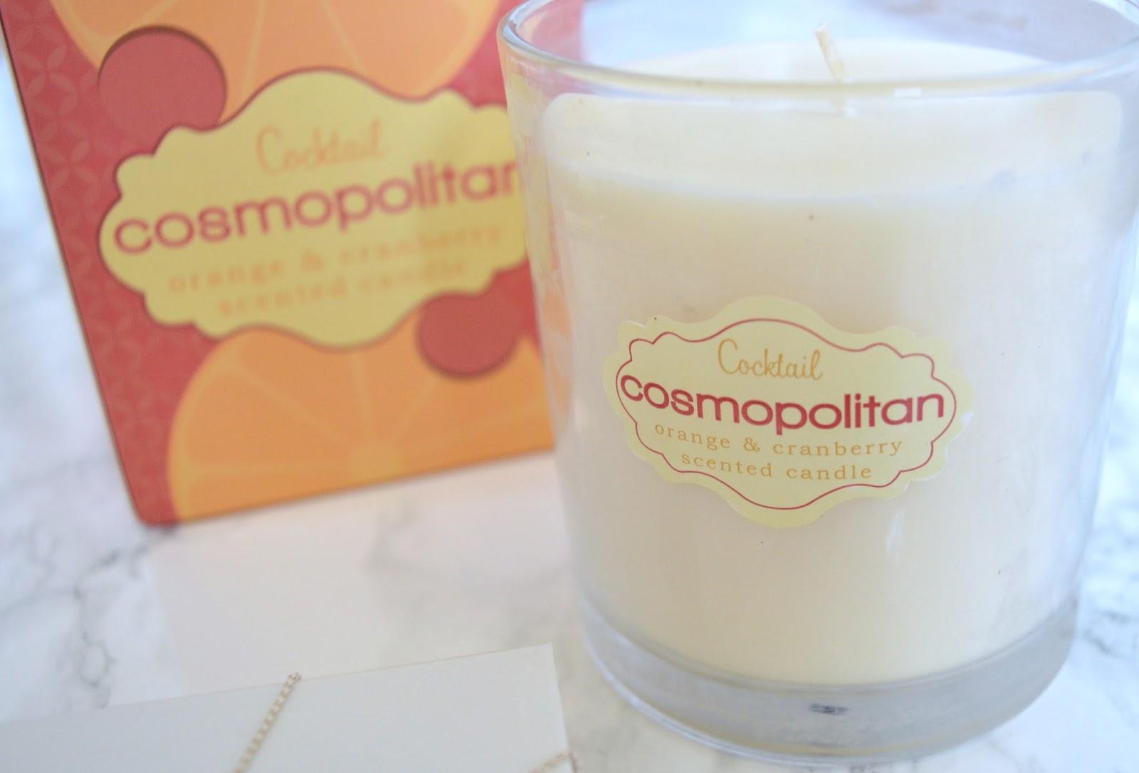 Cosmopolitan Cocktail Candle