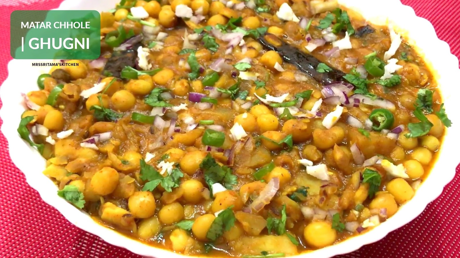 Sritamas food blog matar chole ke chaat matar ghugni chaat ghugni chaat recipe most popular kolkata street food matar ghugni chaat at home step by step with video forumfinder Images