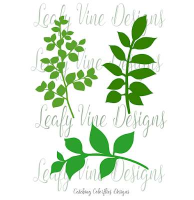 How to make paper vines and leaves. Free svg vine cut files