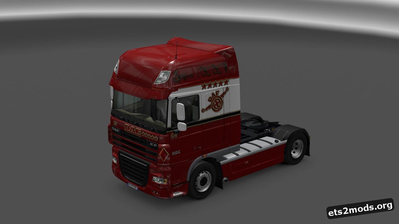 XXI Logistic Skin for DAF XF
