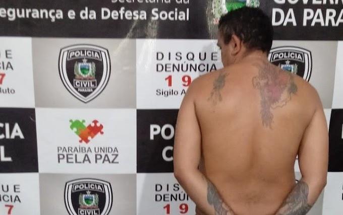 Policias prendem em Patos acusado pela morte de Nego Acácio