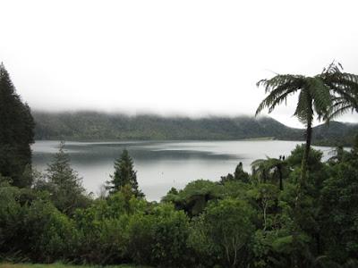 Lago Tikitapu, Nueva Zelanda