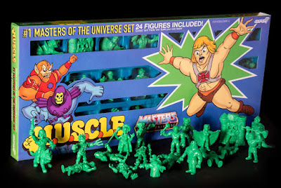San Diego Comic-Con 2016 Exclusive Masters of the Universe M.U.S.C.L.E. Green 24 Pack by Super7