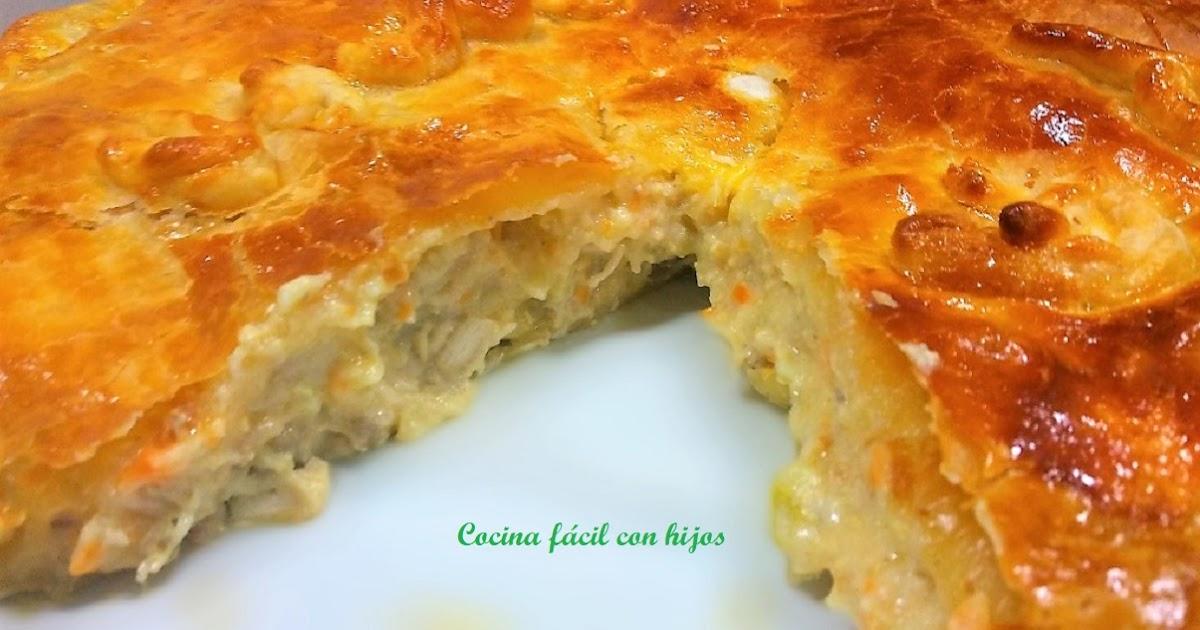 Cocina f cil con hijos pastel de pollo con y sin thermomix - Cocina facil y saludable thermomix ...