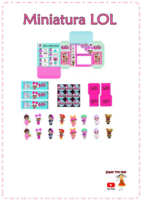 Super Toy Kids Diy Como Fazer Boneca Lol Surpresa