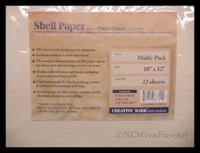 shell paper ncwren product review
