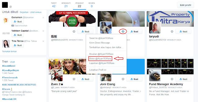 Memiliki banyak pengikut di sosial media ibarat Twitter Cara Blokir Pengikut Di Twitter