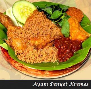 Resep Cara Membuat Ayam Penyet SAMBAL PEDAS | Resep Juna