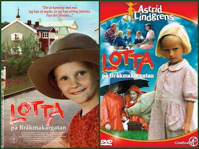 Лотта с улицы Капризуль / Lotta på Bråkmakargatan. 1992.