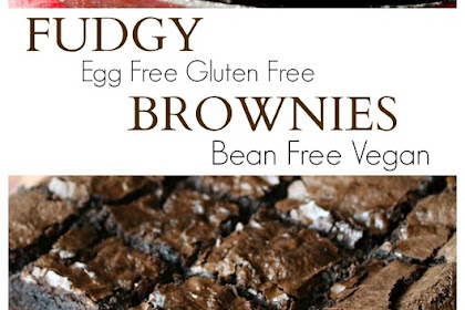 Fudgy Gluten Free Brownies (Egg Free)