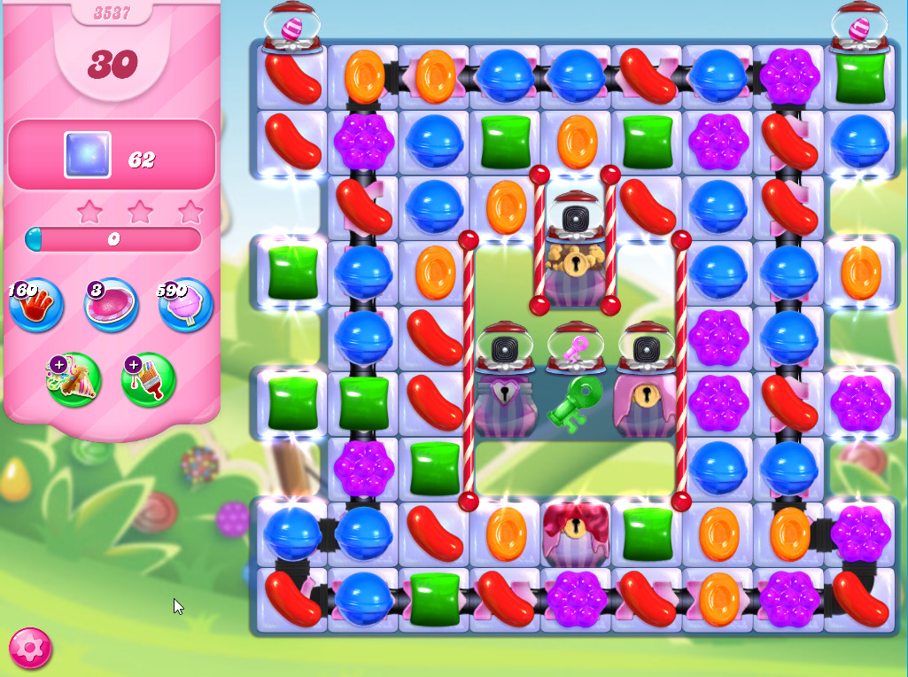 Candy Crush Saga level 3537