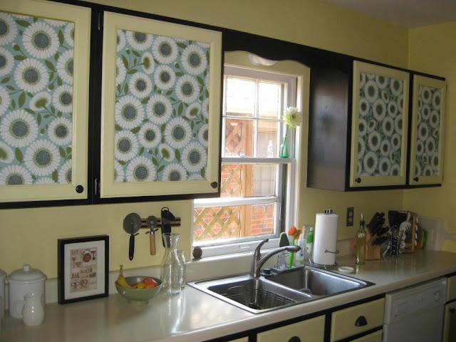 decoração de cozinha com papel constact
