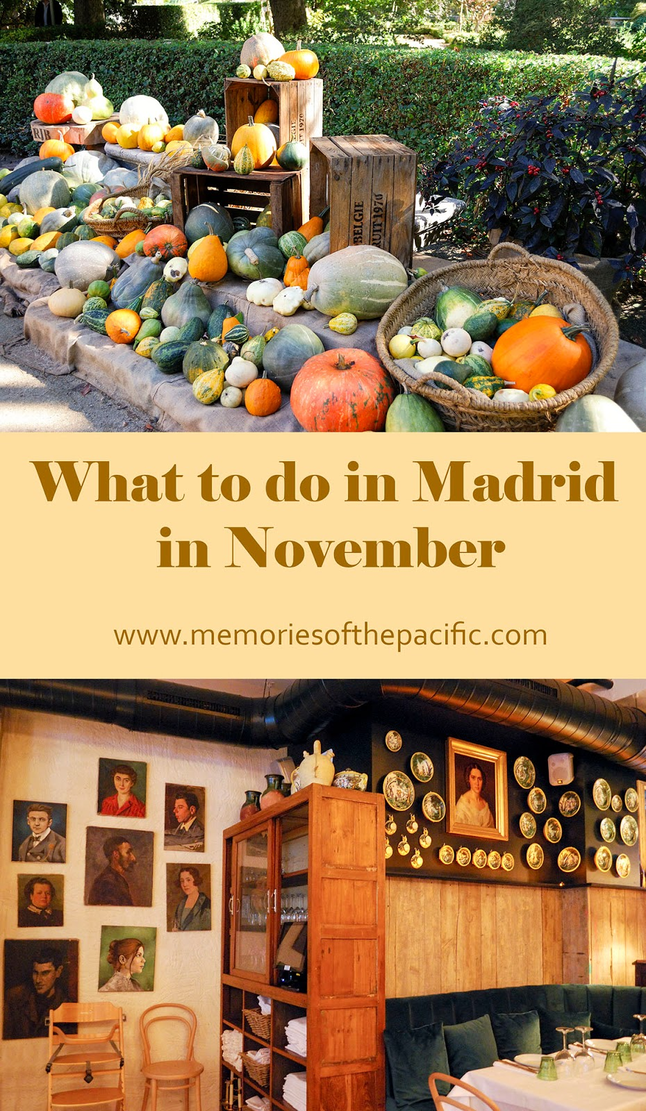 madrid november activities events