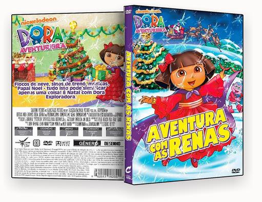 CAPA DVD – Dora Aventura Com As Renas – ISO