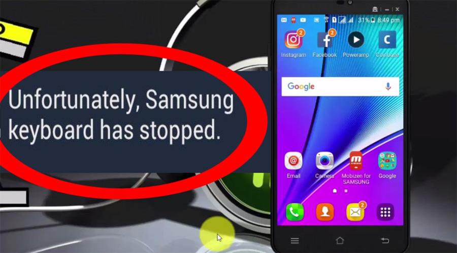 Mengatasi keyboard stopped working di hp Android