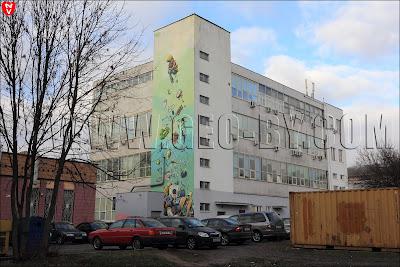 Минск. Улица Фабричная. Граффити