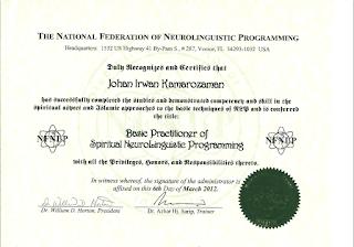 Certified Neuro-Linguistic Programming