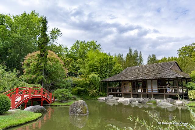 Jardín Japonés - Toulouse por El Guisante Verde Project