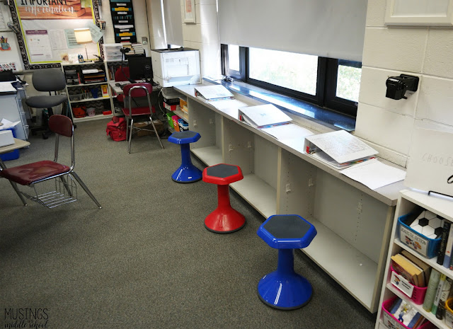 Pictures of alternative seating