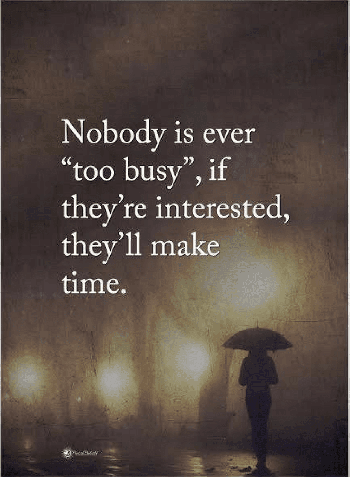 Busy Quotes,
