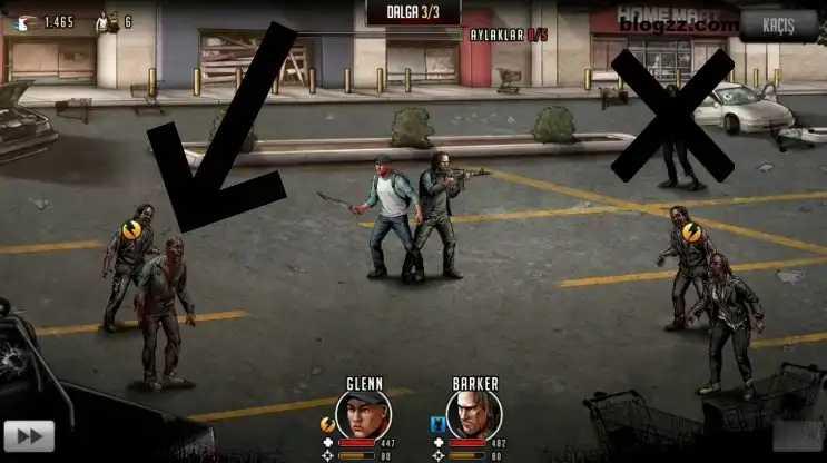 Elit silahlar Walking Dead için önemlidir, vuruş güçleri normal silahlara göre daha fazladır.