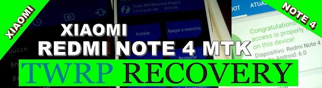 beberapa hari ini saya sering di tanyain Cara Install / Pasang TWRP Recovery Xiaomi Redmi Note 4 MTK | NIKEL