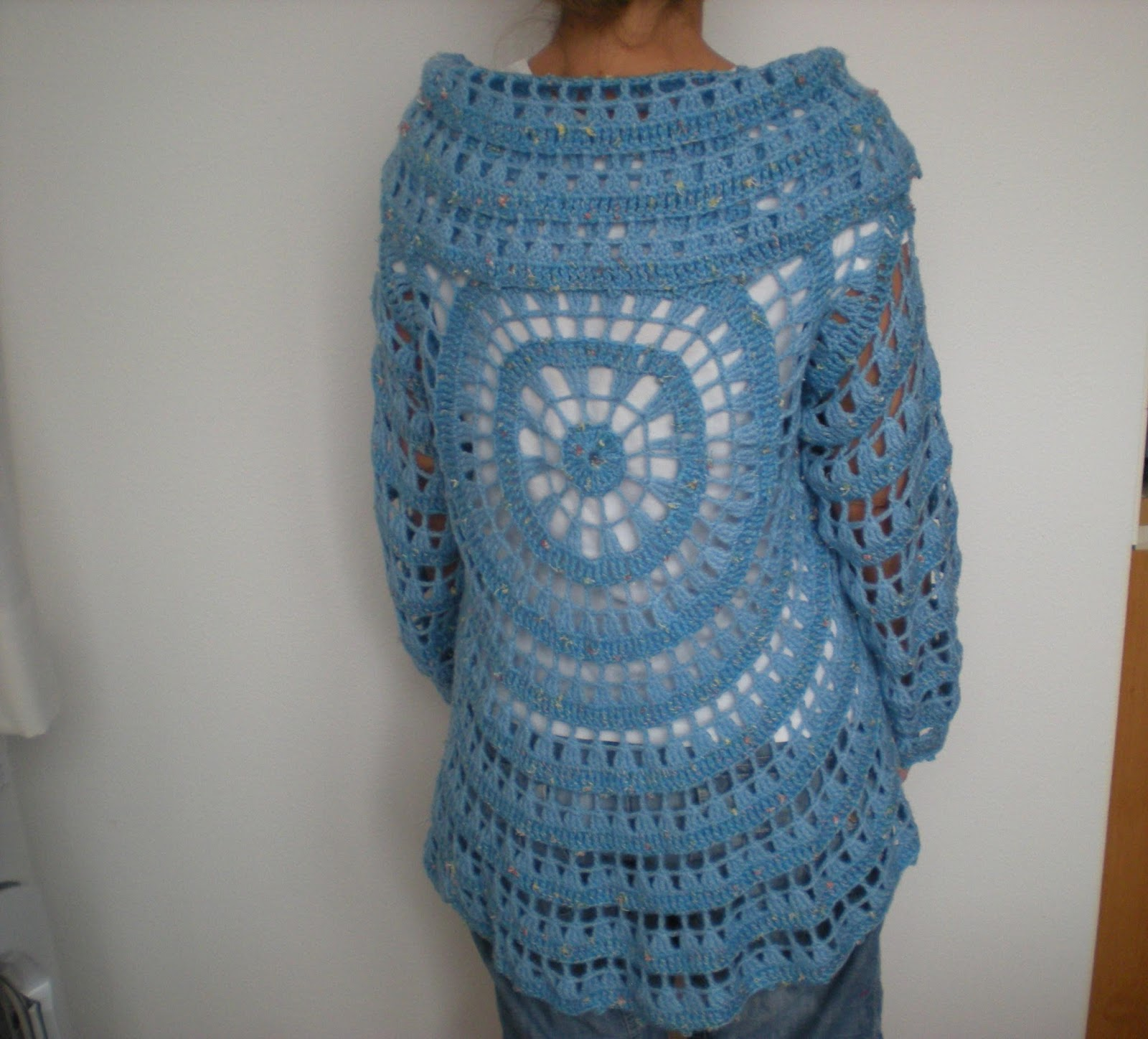 Emmhouse Another Circular Cardigan Free Crochet Pattern