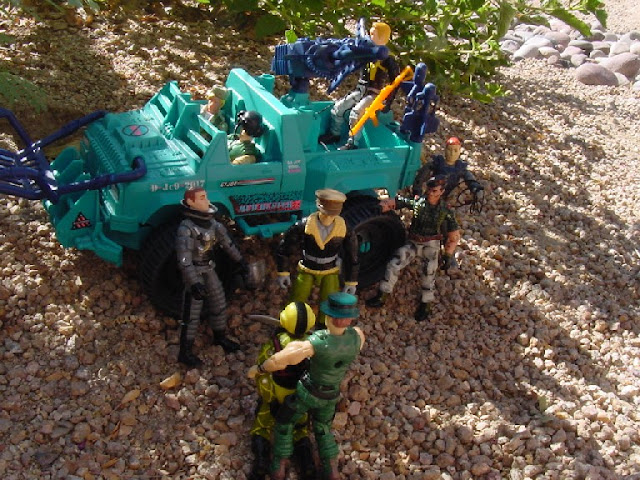 1989 Python Patrol Copperhead, Mudbuster, Funskool Muskrate, 1993 Genreal Flagg, 1998 Ace, Night Force Flint, Unproduced Daina, Oktober Guard, Comic Pack, 2005, Mudbuster, Cerebro, Mace, Brazil, Estrela