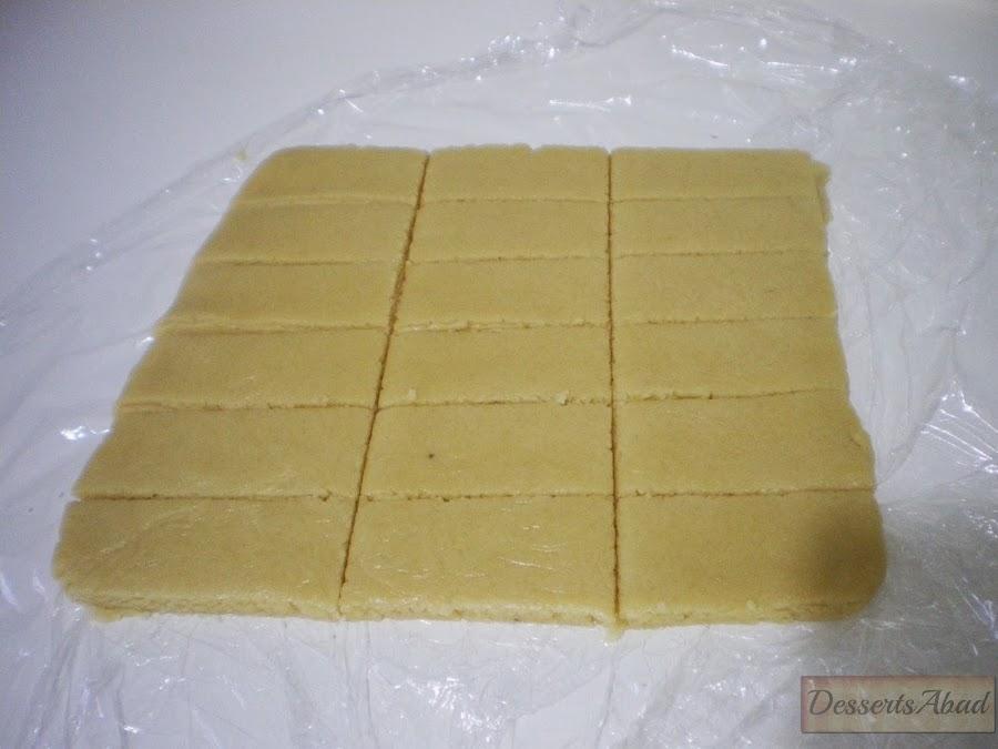 Mandelschnitten (Porciones)