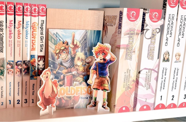 Review zum Manga Goldfisch Manga (Pappaufsteller)