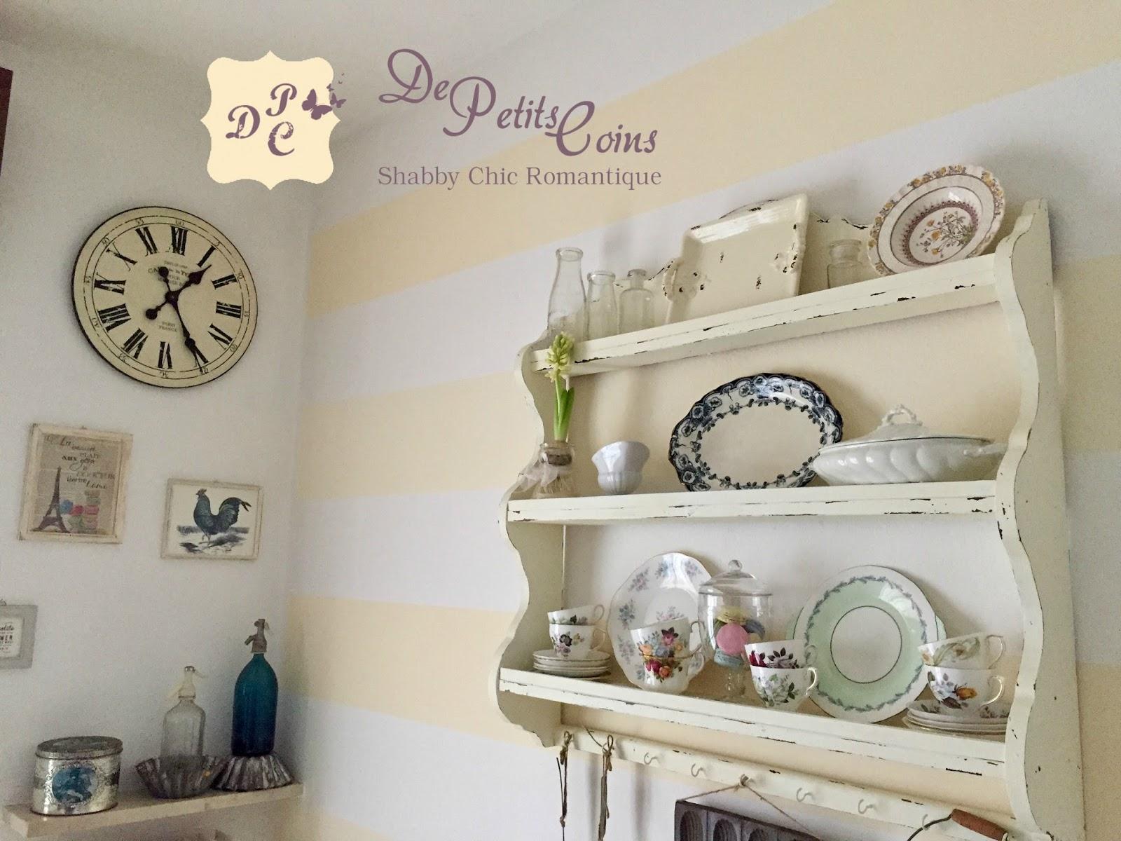 Pareti A Righe In Cucina : De petits coins: parete a righe orizzontali per la mia cucina