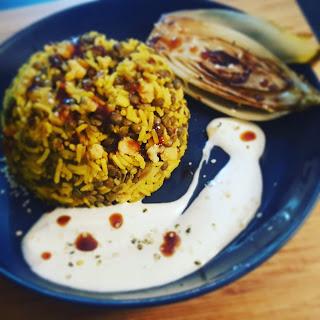 recette facile rapide végétarienne protéiné sans gluten minceur  riz lentilles