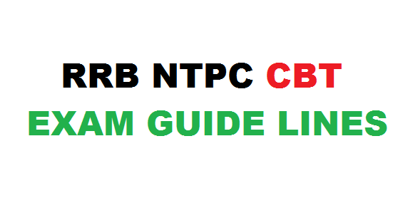 rrb-ntpc-exam-guide-lines
