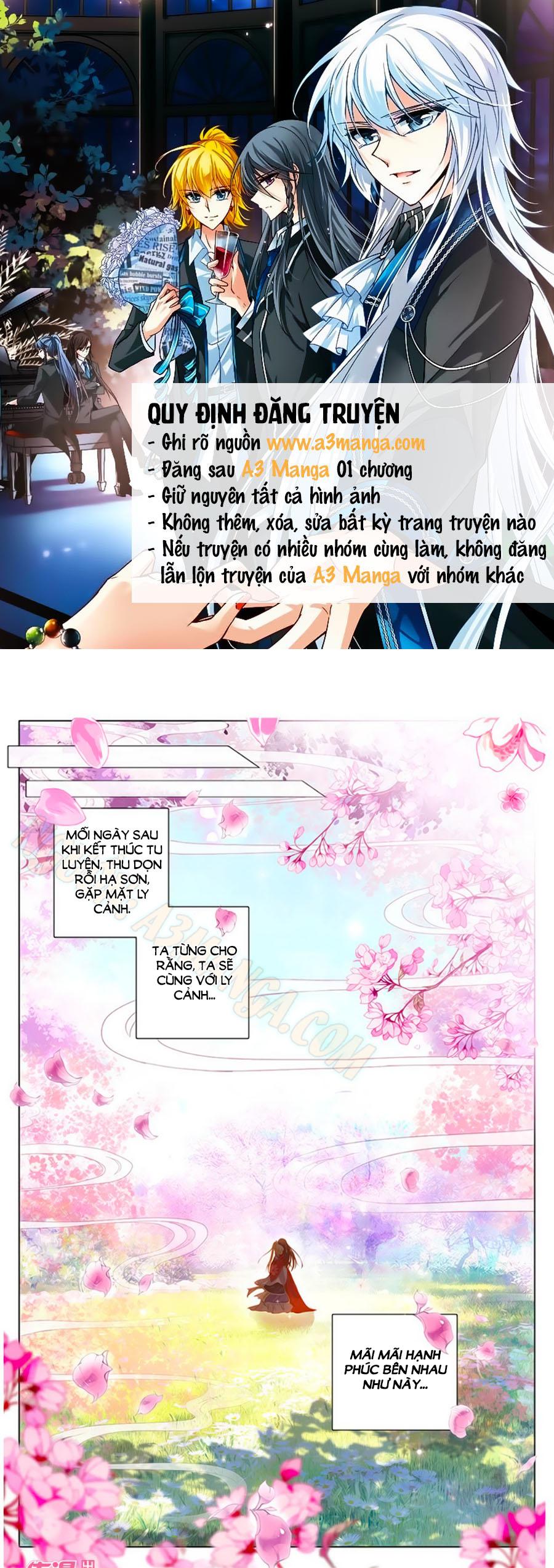 Tam Sinh Tam Thế Thập Lý Đào Hoa Chap 11.1